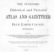 Title Page, Blue Earth County 1895